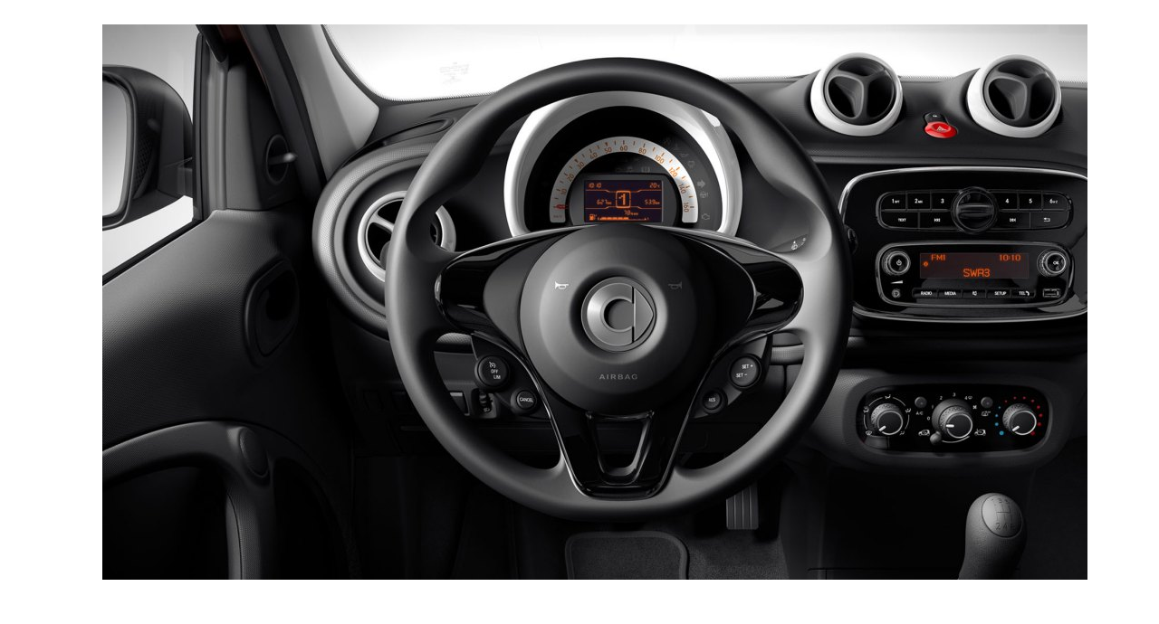 Smart Forfour private lease 1.0 52kW S&S Business Solution Plus