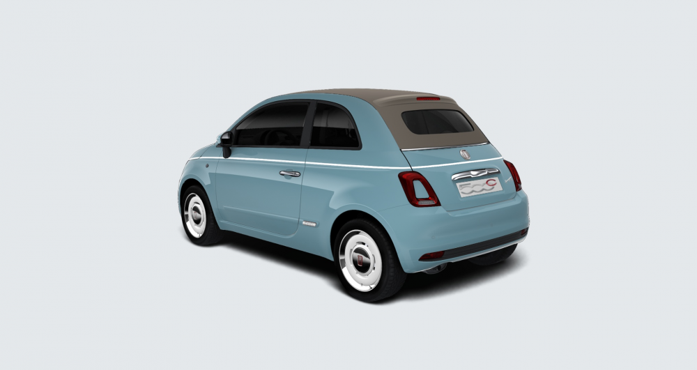 Fiat 500C Spiaggina private lease 0.9 85pk benzine