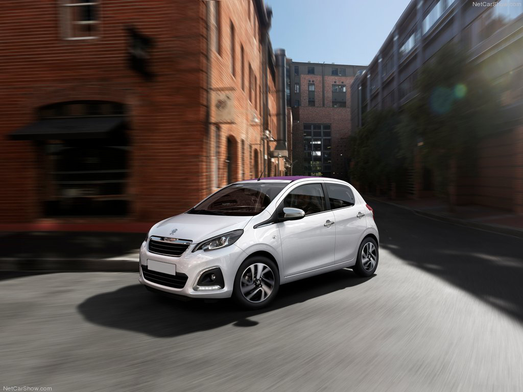 Peugeot 108 TOP private lease