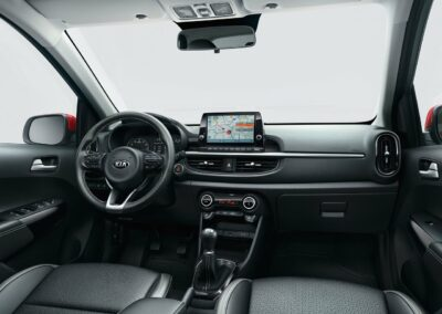 Kia Picanto private lease new interieur