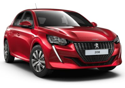 Peugeot 208 private lease front