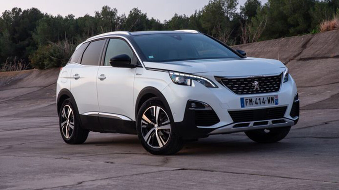 Peugeot 3008 prive lease