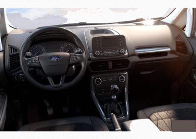 Ford EcoSport private lease Interieur