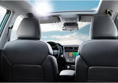 MG elektrisch private lease interieur